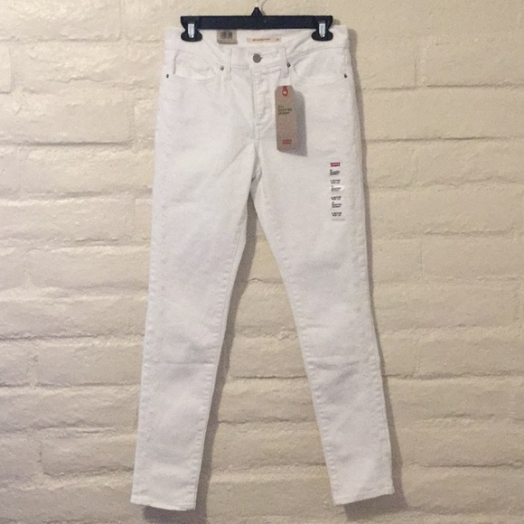 Levi's Denim - Levi's 311 White Shaping Skinny Jeans